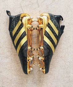 9a70b00e55 These are so beautiful!  cleats  shoes  soccer  blackandgold  adidas Adidas
