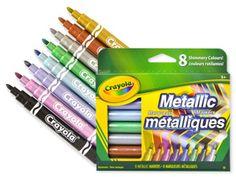 Crayola Metallic Marker Set