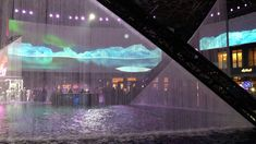Fountain and Hologram Show- Dubai City Walk