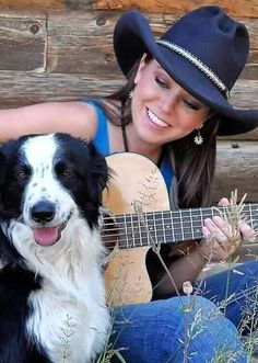 Estilo Cowgirl, Cowboy Hats, Romantic, Pretty, Dogs, Beautiful, Friends, Animals, Fashion