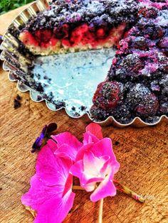 Ovocný koláč s makom - Nelkafood kolač mak kvasok Fruit, Food, Basket, Essen, Meals, Yemek, Eten
