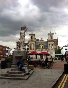 Kingston upon Thames is the principal settlement of the Royal Borough of Kingston upon Thames in London.