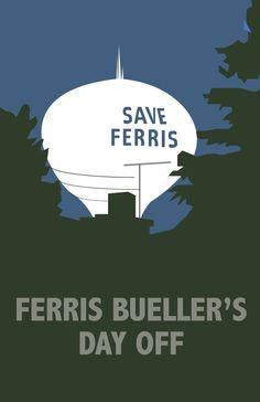 Ferris Bueller's Day Off / Ferris macht blau