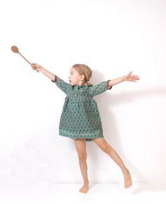 Girls boho DRESS tunic pattern children sewing di AmelieClothing