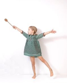 Girls boho DRESS tunic pattern - children sewing pattern - sizes from 3 to 8 years on Etsy, $7.50