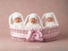 Easter Baby photography by, Anne Geddes