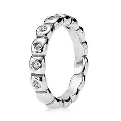 Pandora Hope with Clear CZ Ring