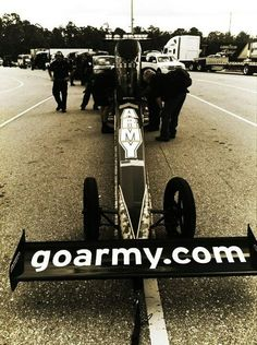 """""""The SARGE"""" Tony Schumacher TopFuel Army Dragster"""