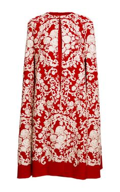 Dolce & Gabbana - Embroidered Cady Cape