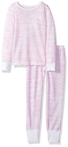Fruit of the Loom Big Girls' Waffle Thermal Underwear Set #Fruit #Loom #Girls' #Waffle #Thermal #Underwear