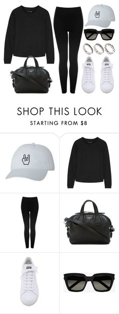"""Style #11289"" by vany-alvarado ❤ liked on Polyvore featuring rag & bone, Topshop, Givenchy, adidas, Yves Saint Laurent and ASOS"