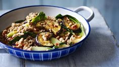 Pork and aubergine go together perfectly in this fragrant stir-fry. Serve with rice or noodles.