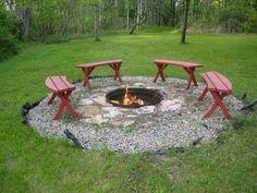 Backyard Fire Pit Ideas 22