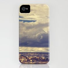 """Little Town, Big Sky"" iPhone Case by Christina Shaffell // via society6"
