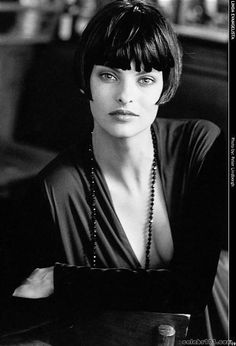Why is Linda Evangelista always trying to get me to cut my hair? (Note: it usually works.)