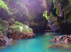 Green Canyon Pangandaran Jawa Barat Cijulang the Green Canyon