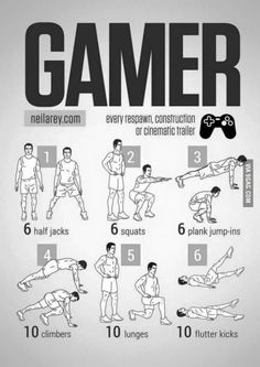 Exercise For Gamers