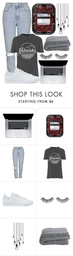"""#58"" by oneandonlyfashion ❤ liked on Polyvore featuring Topshop, adidas Originals and Napoleon Perdis"