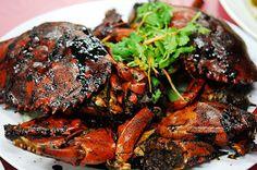Singapore Food   Recipes: Singapore Black Pepper Crab