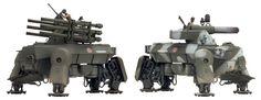 Heavy Assault Walker 'Barking Dog' (DT076)