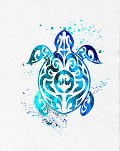 watercolor art sea turtle tribal blue green modern wall art decor print art green dec is part of Turtle tattoo designs - Watercolor Art Sea Turtle Tribal Blue Green Modern Wall Art Decor Print Art Green Dec Watercolorart Sea Tribal Turtle Tattoos, Turtle Tattoo Designs, Tribal Tattoo Designs, Sea Turtle Art, Turtle Love, Mandala Turtle, Sea Turtles, Hawaiianisches Tattoo, Body Art Tattoos