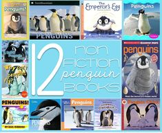 12 non-fiction penguin books to integrate into science and reading!