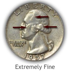 Grading Obverse Extremely Fine Washington Quarter - Grading Obverse Extremely Fine Washington Quarter The post Grading Obverse Extremely Fine Washington Quarter appeared first on POSPO Investments. Rare Coins Worth Money, Valuable Coins, Hobbies For Kids, Silver Quarters, American Coins, Coin Worth, Error Coins, Coin Values, Coin Grading