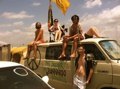Roadtrip to festivals! Bonnaroo!