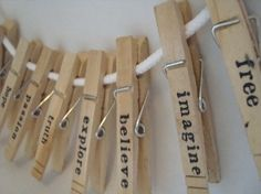 Inspiration Clothes Pins