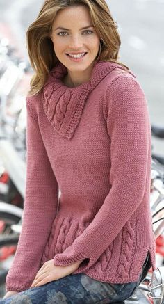 Free and This winter Best Crochet Sweater Patterns 2020 Part 39 ; knitting sweaters for beginners; Sweater Knitting Patterns, Knitting Stitches, Knitting Sweaters, Free Knitting, Pull Crochet, Free Crochet, Sweaters For Women, Sweater Weather, Crochet Clothes