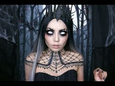 Queen of Darkness ( Halloween 2015)  Another 2015 Halloween video. This Queen of Darkness Makeup was inspired by Blind Mag and Nelly Recchia's Wicked royal.  #teelieturner #halloween