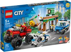 Shop LEGO City Police Monster Truck Heist 60245 at Best Buy. Lego City Police Sets, Lego City Sets, Building Sets For Kids, Lego Building Sets, Monster Truck Toys, Toy Trucks, Modele Lego, Police Truck, Lego City