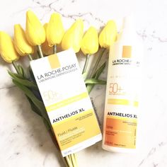 Have you tried Anthelios XL Ultra-Light SPF 50 Spray and the Anthelios XL SPF 50 Ultra-Light? I like that it's not greasy easy to apply and do not leave a white mark. #savemyskin