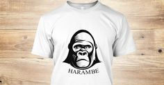A tribute to the gorilla named Harambe. Get one now while you can, for a limited time only! #harambe #gorilla