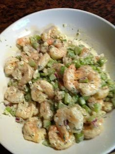 The Invisible Chef: Shrimp Salad