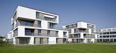 Fourside residental park, Erlangen, Deutschland