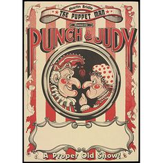 Punch and Judy - wedding invitations - inspiration for photo booth