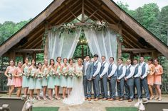 I wish I could pinpoint a single detail of this gorgeous day that I love more than the others, but the truth is, I do believe I love every single moment in these stunning images from Rustic White Photography. They paint