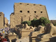 Ancient Thebes with its Necropolis, Egypt.  My visit there was in November 2011.