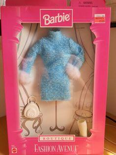 Gorgeous Barbie Fashion Avenue Blue Outfit 1998