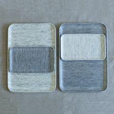 fog linen resin tray