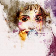Watercolor - Ana Larousse by ~galitzki