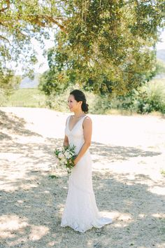 Photography: Margaret Austin Photography - margaretaustinphoto.com   Read More on SMP: http://www.stylemepretty.com/california-weddings/2016/02/20/rustic-blush-and-blue-wine-country-wedding/