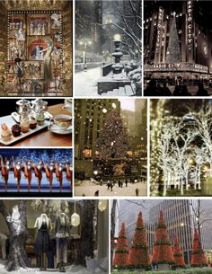 """The Dreamboard: NYC Christmas - designing """"the life"""""""
