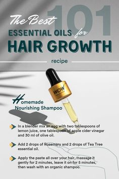 The Best Essential Oils for Hair Growth The Best Essential Oils for Hair Growth Brynne Vaughn Essential oils While there are no wonder-remedies for hair growth nbsp hellip growth process Best Essential Oil Diffuser, Essential Oils Guide, Essential Oils For Hair, Therapeutic Grade Essential Oils, Essential Oil Blends, Food Grade Essential Oils, Sisterlocks, Savon Soap, Nagellack Trends