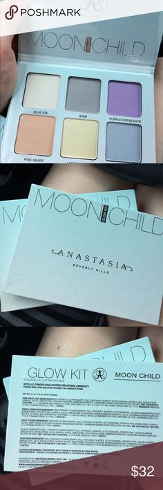 Moonchild Glow Kit Beautiful Anastasia Beverly Hills Glow Kit in Moonchild! Pretty much brand new Anastasia Beverly Hills Makeup Luminizer