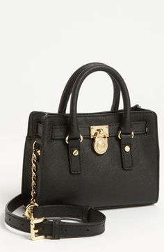 dd13ee6b5f MICHAEL Michael Kors  Hamilton - Mini  Leather Messenger Bag