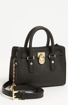 MICHAEL Michael Kors 'Hamilton - Mini' Leather Messenger Bag   Nordstrom