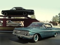 New 61 Impala at the loading dock