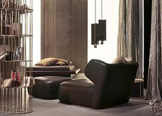 love this funky lounge chair and ottoman! DC 150 at DDC New York